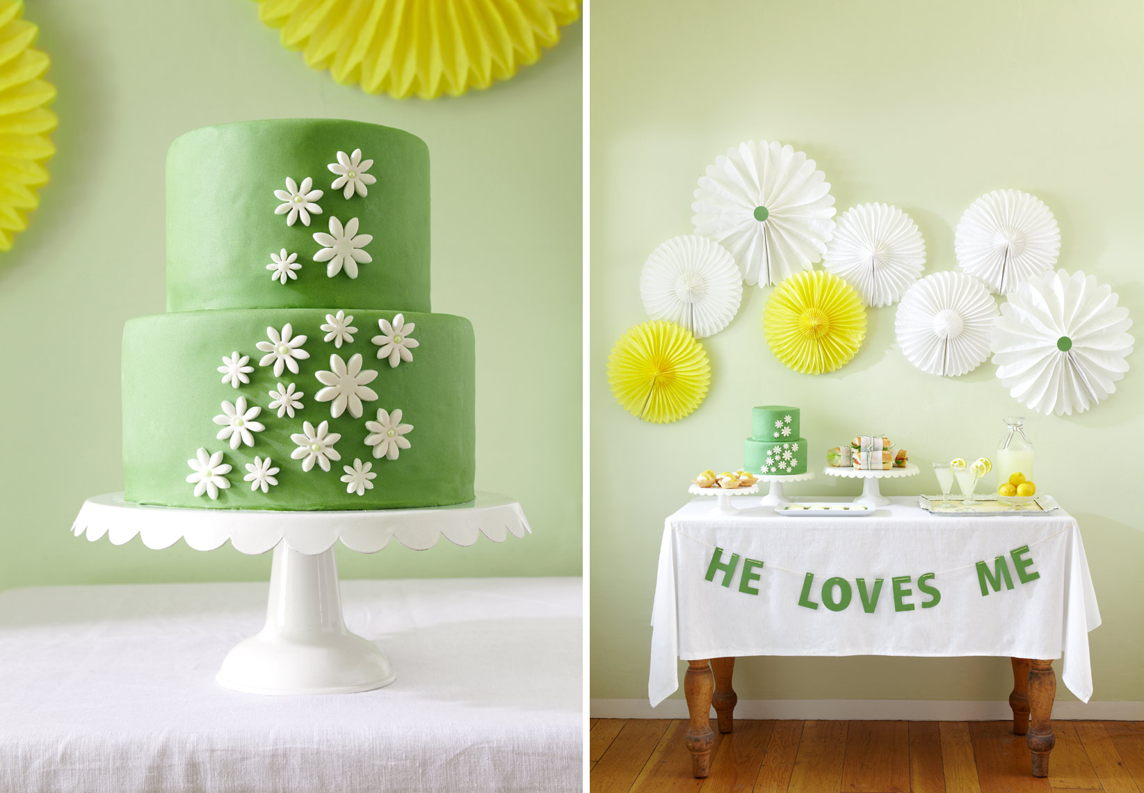Cake_Daisy_table
