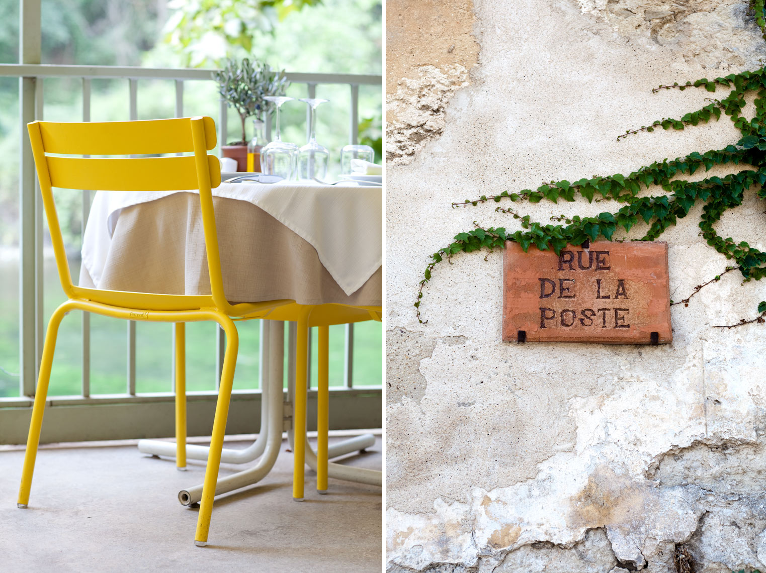 Yellow_Chair_Rue_Sign_France